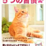 美しい猫の飼い主さんがやっている!「5つの習慣」
