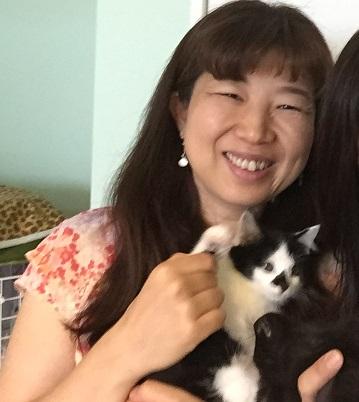 【お客様の声】ずっと病気にしたくないから受講を決めました。(埼玉県)愛さん 猫の親養成講座修了生